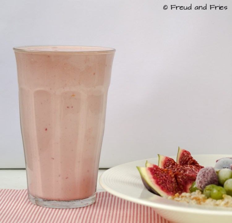 Protein frambozen frappuccino   Freud and Fries