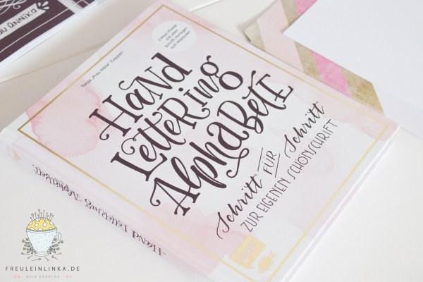 DIY Handlettering, die ersten Versuche mit dem Buch Handlettering Alphabete