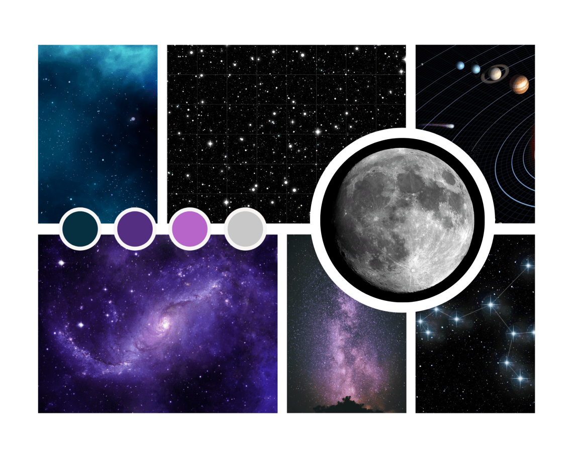 Moodboard Into Space