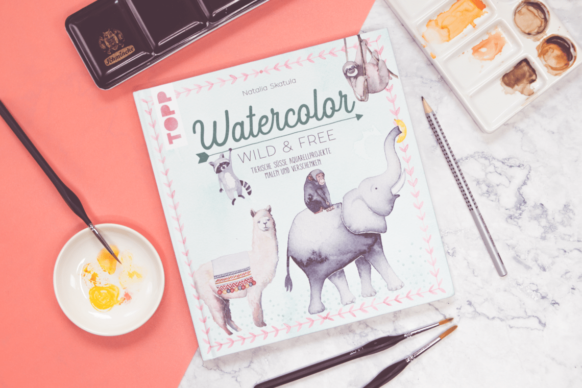 Buchcover Watercolor Wild and Free
