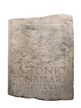 Stein-Grabplatte