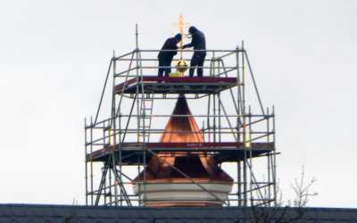 Kloster Frauenwörth hat wieder ein Glockentürmchen – Segensfeier
