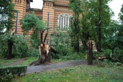 Unwetter in Timisoara