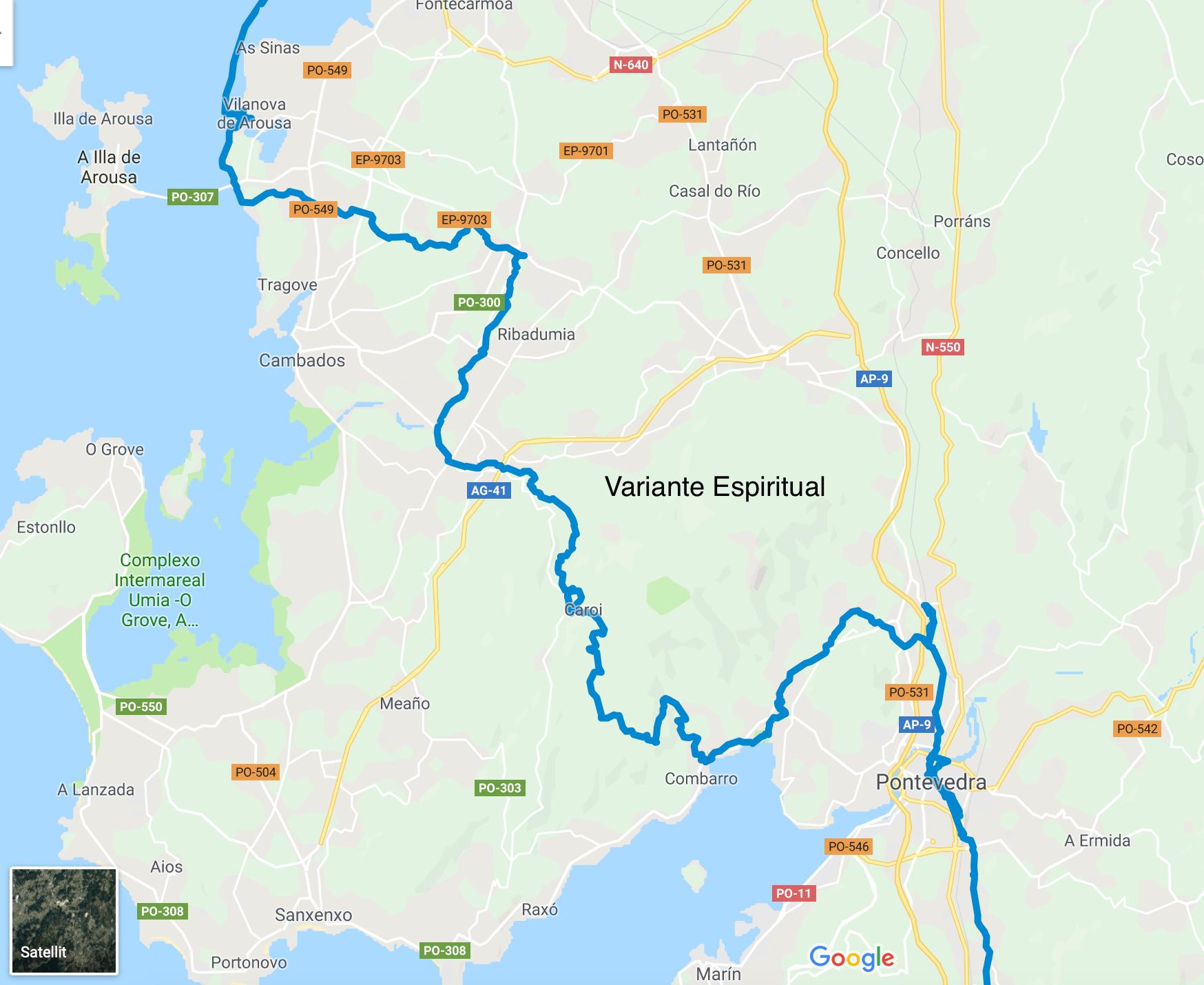 jakobsweg porto nach santiago de compostela küstenweg
