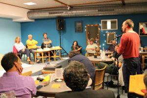 Auch das Publikum beteiligte sich an der Podiumsdiskussion zur Landtagswahl