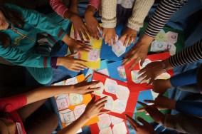 Willst Du ein Kunstprojekt für Kinder leiten?