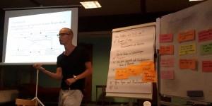 """Max Barnewitz leitete den """"Streitet euch!""""-Workshop"""