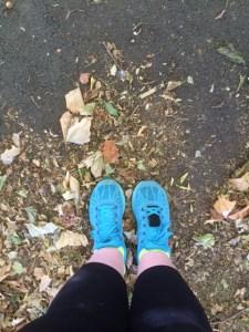 Feet, pre-run