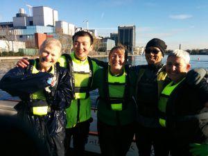 Capsize crew: Karen, Chao, Freya, Eddy, Trace