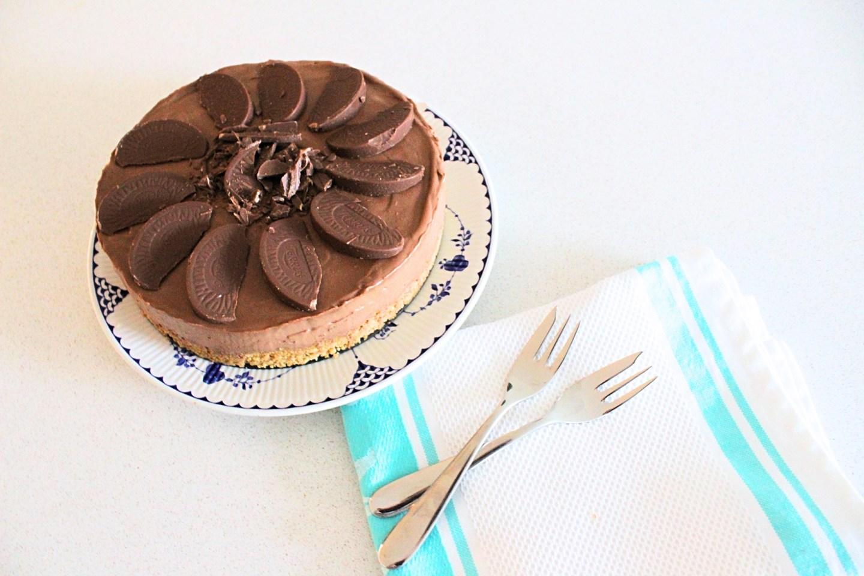 Terry's Chocolate Orange Cheesecake Recipe   Baking   FREYA WILCOX