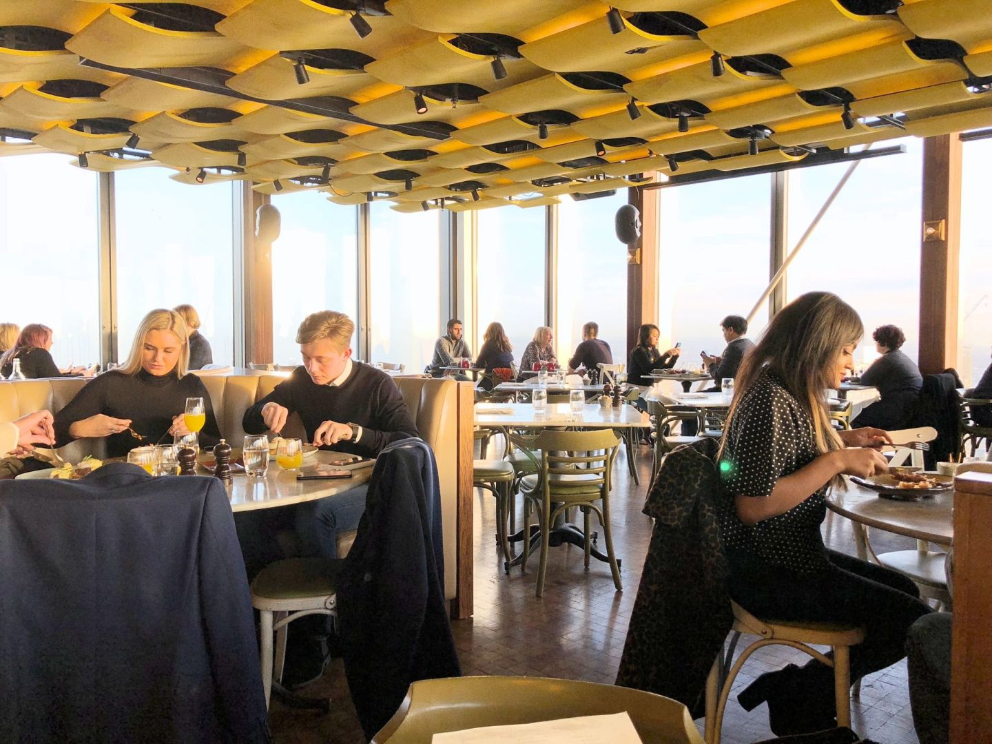 Review: Breakfast at the Duck and Waffle | LONDON | FREYA WILCOX