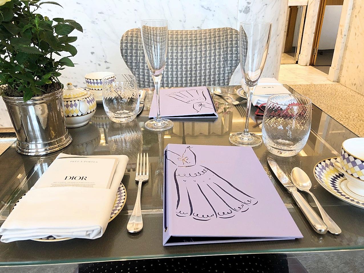 Review: Dior Prêt-à-Portea  at The Berkeley   FOOD   FREYA WILCOX