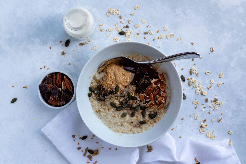 Recipe: Creamy Peanut Butter Porridge | FOOD | FREYA WILCOX