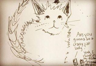 sketch-cat-lady