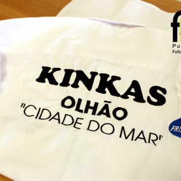 Camisas Bordadas – Restaurante Kinkas