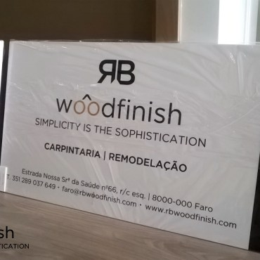 Placas de Obra em PVC – RB Woodfinish