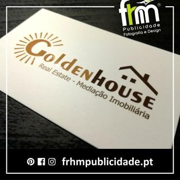 Cartões Comerciais – Goldenhouse Imobiliária