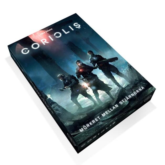 Omslaget till Coriolis är nu klart.