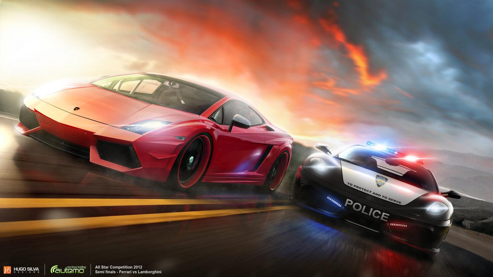 Ferrari vs Lamborghini - - Fribly