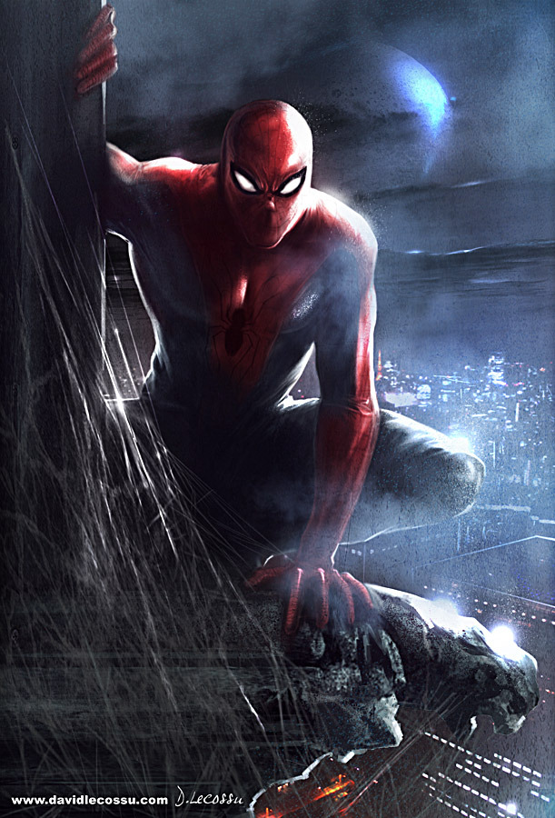 Spiderman  Digital Art Fribly