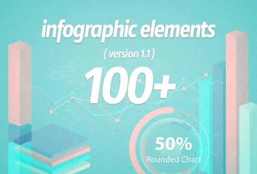 100+ Infographic Elements - Freebies