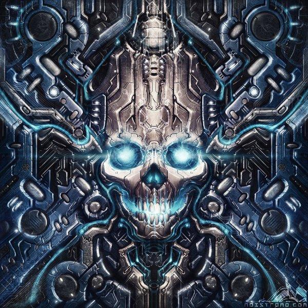 Cybernetics Drawing Art