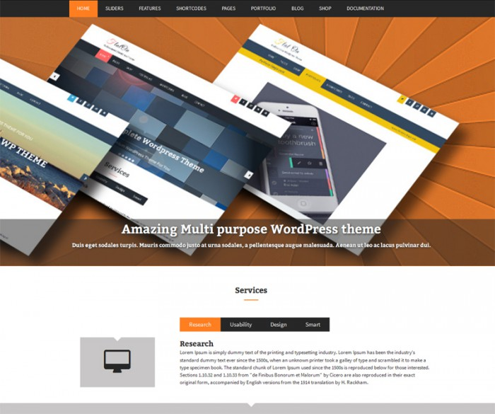 Flaton Free WordPress Theme