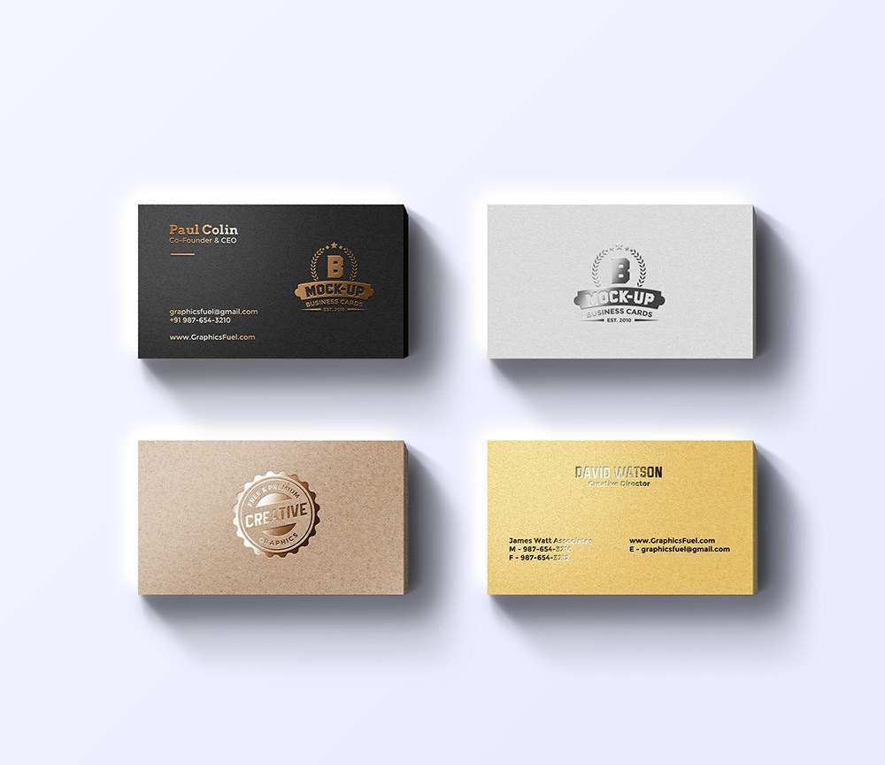 Foil business cards mockup freebies fribly magicingreecefo Images