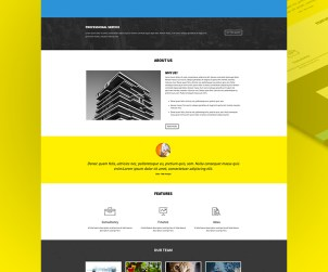 free-html5-agency-single-page-template