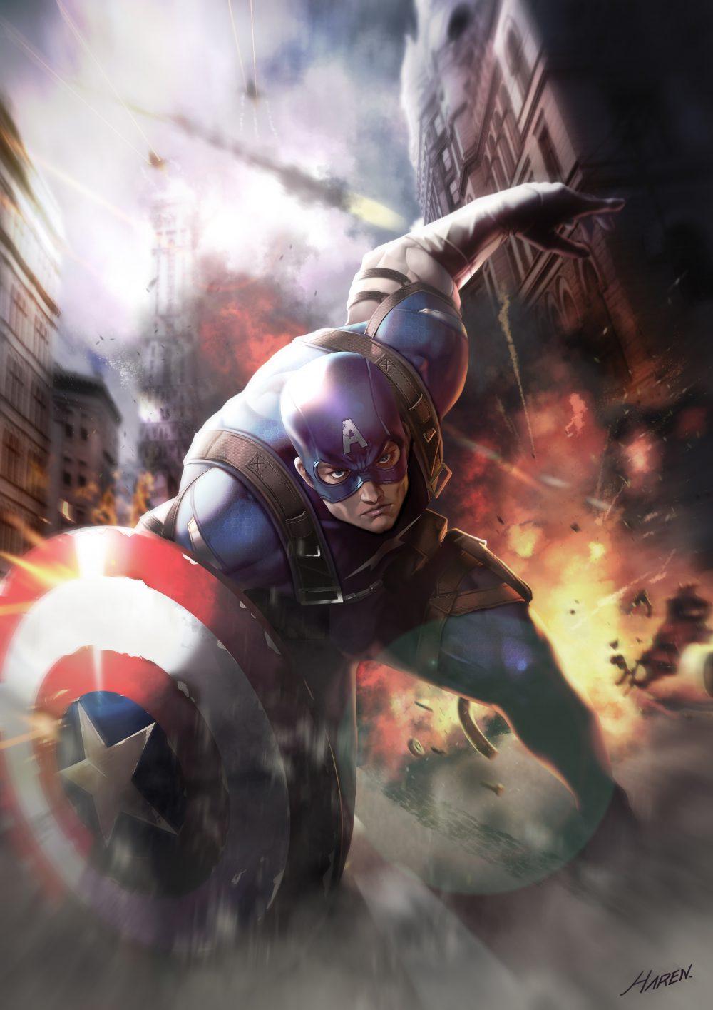 Knights Templar Wallpaper Iphone Captain America Fan Art Digital Art Fribly
