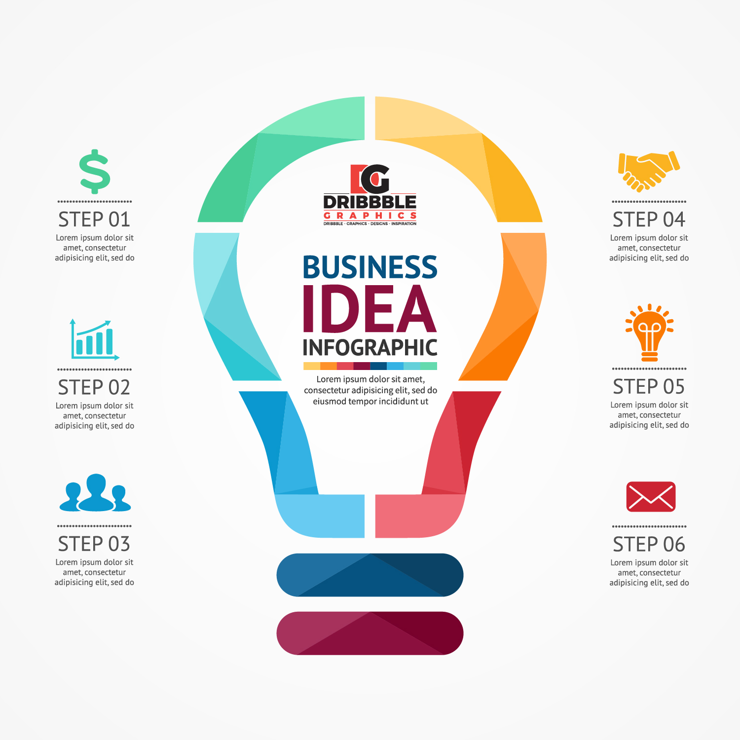Free Business Infographics Vector Graphics - Freebies ...