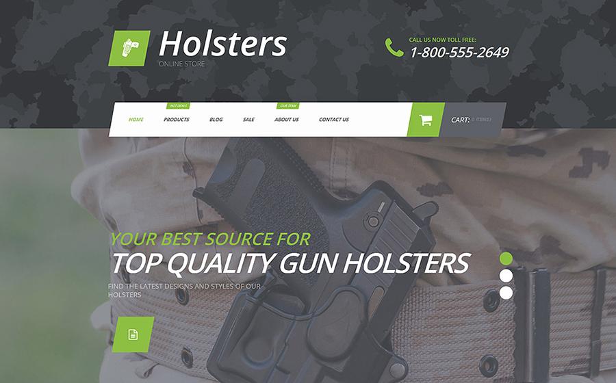 Gun Store Shopify Theme