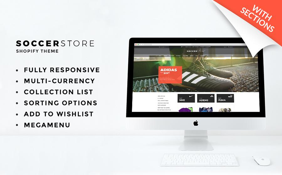 Soccer Store Shopify Theme
