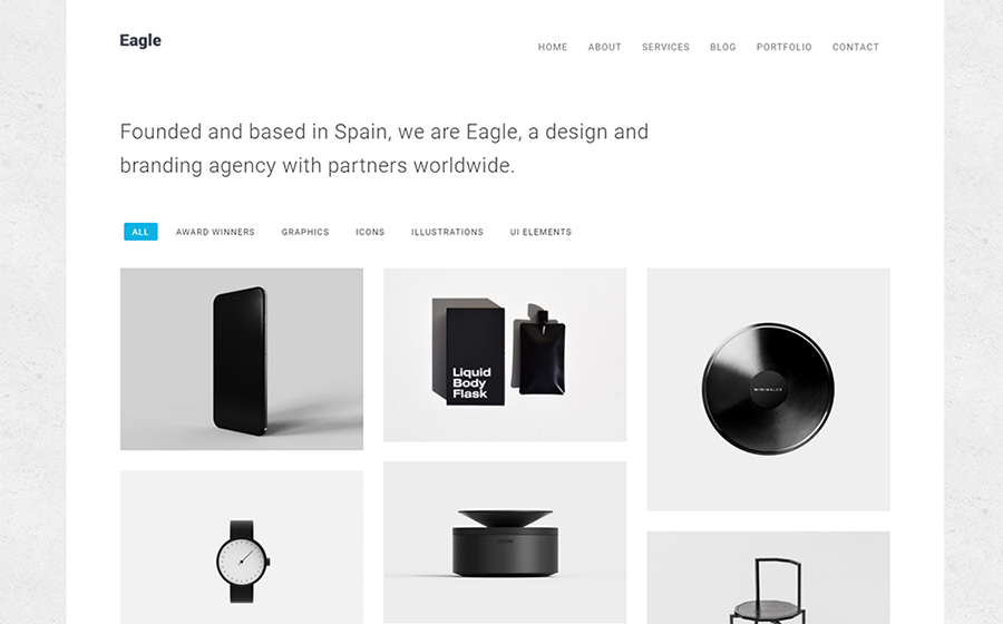 Eagle - Responsive Minimal WordPress Theme