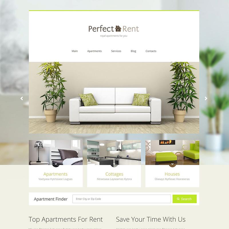 Apartment Rent Joomla Theme