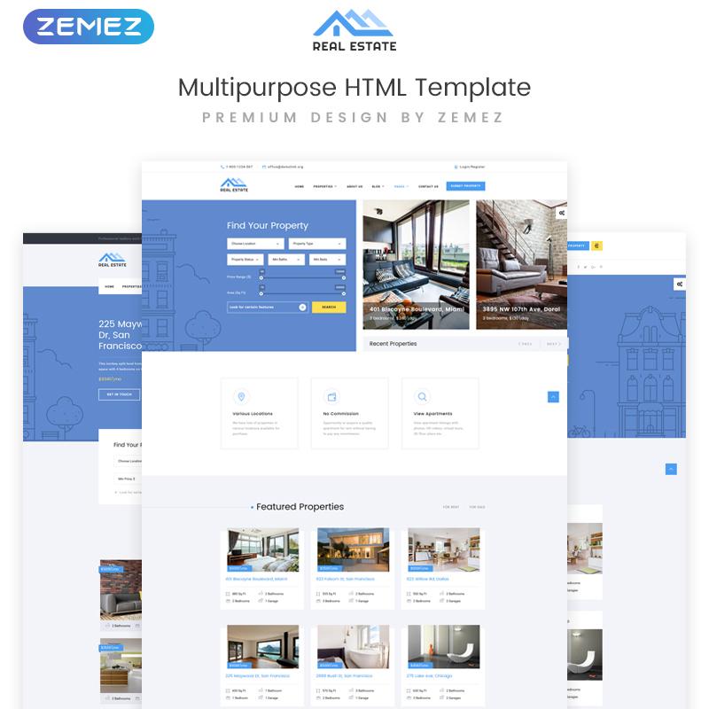 Real Estate Multipurpose HTML Template