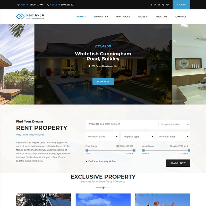RealArea - RealEstate WordPress Theme