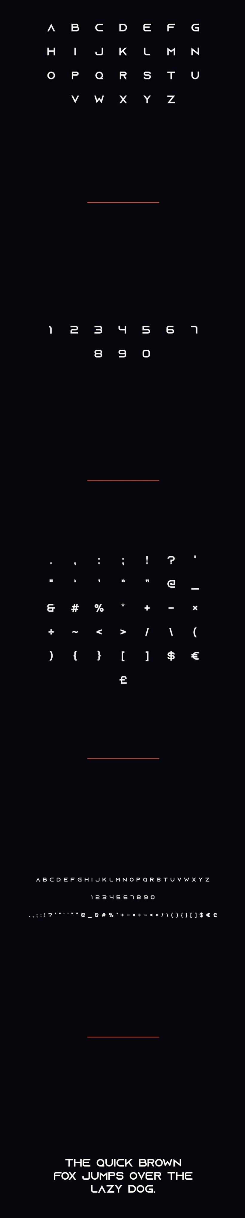 Azonix Free Modern Font
