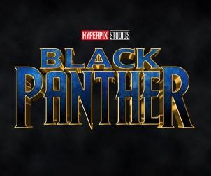Black Panther 3D Text Effect