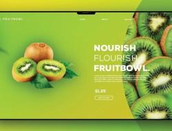 Food Header Design in Photoshop