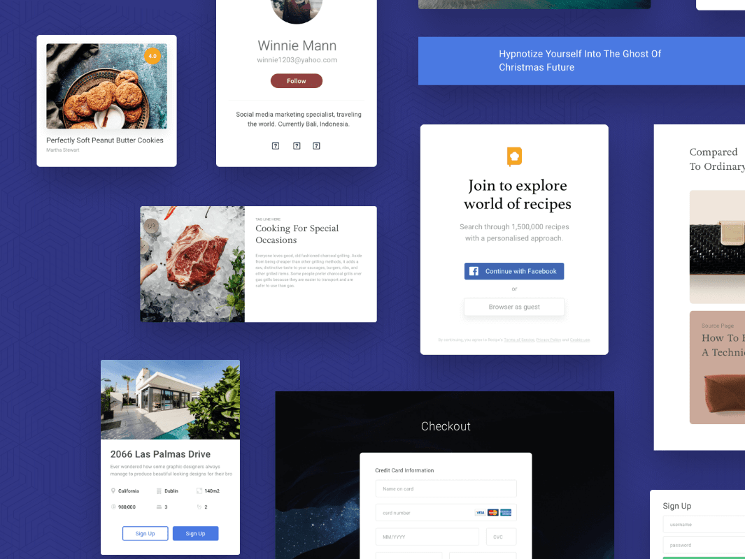 Free Front-End UI Kit