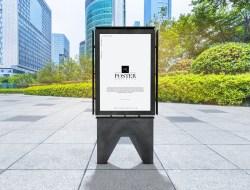 Outdoor Billboard Poster Mockup