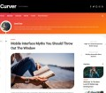 Curver Free Personal Blog WordPress Theme
