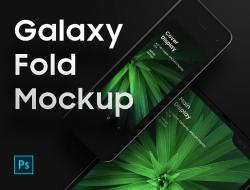 Free Galaxy Fold Mockup