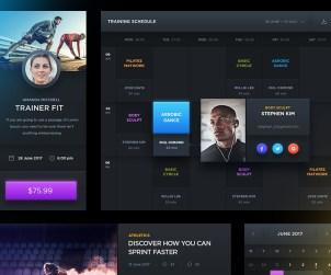 Free Sports UI Kit
