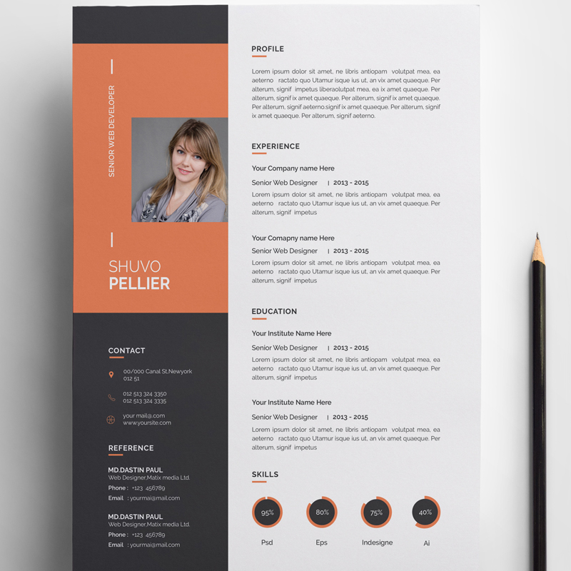 Shuvo Designer Resume Template