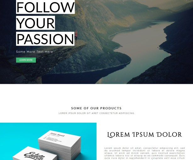 Create Responsive Parallax Web Page