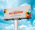 Free Advertising Billboard Mockup