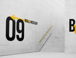 Free Big Wall Mockup