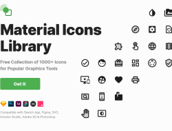 Material Icons Library